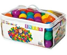 49602 Пластиковые мячи 6,5см, 100шт для игровых центров, от 2 лет