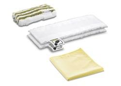Комплект микроволоконных салфеток для ванной - фото 69588