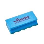Губка Профи с системой ПурАктив, 6,3х14 см, голубая