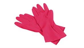 Перчатки многоцелевые, красные, размер L