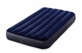 64757 Надувной матрас Classic Downy Airbed Fiber-Tech, 99х191х25см