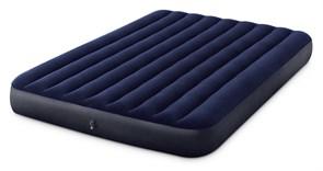 64759 Надувной матрас Classic Downy Airbed Fiber-Tech, 152х203х25см