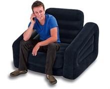 68565 Надувное кресло-трансформер Pull-Out Chair, 107х221х66см
