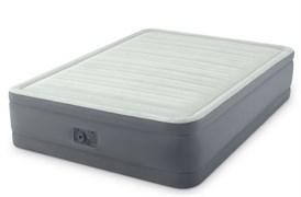 64904 Надувная кровать Premaire Elevated Airbed 137х191х46см, встроенный насос 220V