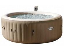 28408 СПА-бассейн Bubble Massage 165/216х71см, круглый с круговым пузырьковым массажем