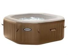28414 СПА-бассейн Bubble Therapy 150/201х71см, восьмигранный с круговым пузырьковым массажем