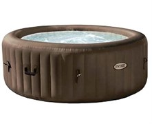 28424 СПА-бассейн Jet Massage 145/196х71см,кругл,гидромас, хлорогенератор