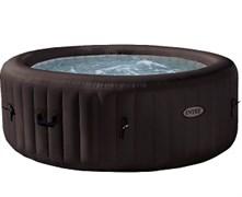 28422 СПА-бассейн Jet Massage 145/196х71см, круглый с гидромассажем