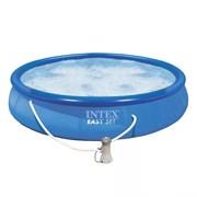 28158 Бассейн Easy Set, 457х84см, 9792л, фильтр-насос 2006л/ч