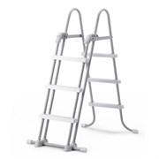 28072 Лестница для бассейнов от 91 до 107 см, 3 ступеньки, без площадки, с защитой