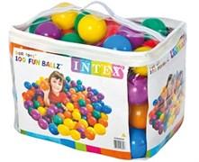 49600 Пластиковые мячи 8см, 100шт для игровых центров, от 2 лет