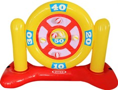 """56509 Игровой надувной набор """"Дартс"""" 140х58х99см, 6 мячей, от 6 лет"""