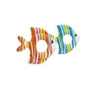 """59223 Надувной круг """"Тропические рыбки"""" 83x81см, 2 цвета"""