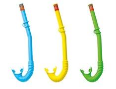 """55922 Трубка для сноркелинга """"Hi-Flow"""" 3 цвета, от 3 до 10 лет"""