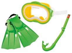 55955 Набор для подводного плавания Мастер Класс (маска, трубка, ласты), от 8 лет