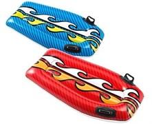 58165 Надувной плот 112х62см с ручками, 2 цвета, от 6 лет