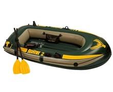 68347 Надувная лодка Seahawk 2 Set (до 200кг) 236х114х41см + весла/насос