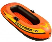 58329 Надувная лодка Explorer 100 (до 55кг) 147x84x36см