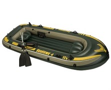68351 Надувная лодка Seahawk 4 Set (до 400кг) 351х145х48см + весла/насос, 2подушки