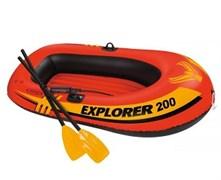 58331 Надувная лодка Explorer 200 Set (до 95кг) 185х94х41см + весла/насос от 6лет