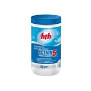 C800702H1 Многофункциональные таблетки по 20гр/1,2кг - 5 в 1, стабилизированный хлор, HTH Maxitab Action 5