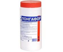 М18 ЛОНГАФОР, 1кг ведро, табл.20гр, медленнорастворимый хлор для непрерывной дезинфекции воды