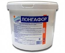 М15 ЛОНГАФОР, 2,6кг ведро, табл.200гр, медленнорастворимый хлор для непрерывной дезинфекции воды