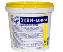М40 ЭКВИ-МИНУС, 6кг ведро, гранулы для понижения уровня рН воды
