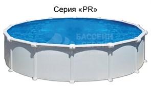 Бассейн круглый GRE (3,5x1,32) светло-голубой комплект с форсункой и скиммером /PR358