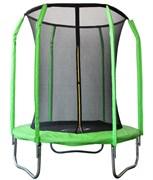 Батут Sport Elit GB30201-6FT 183см сетка внутрь зеленый